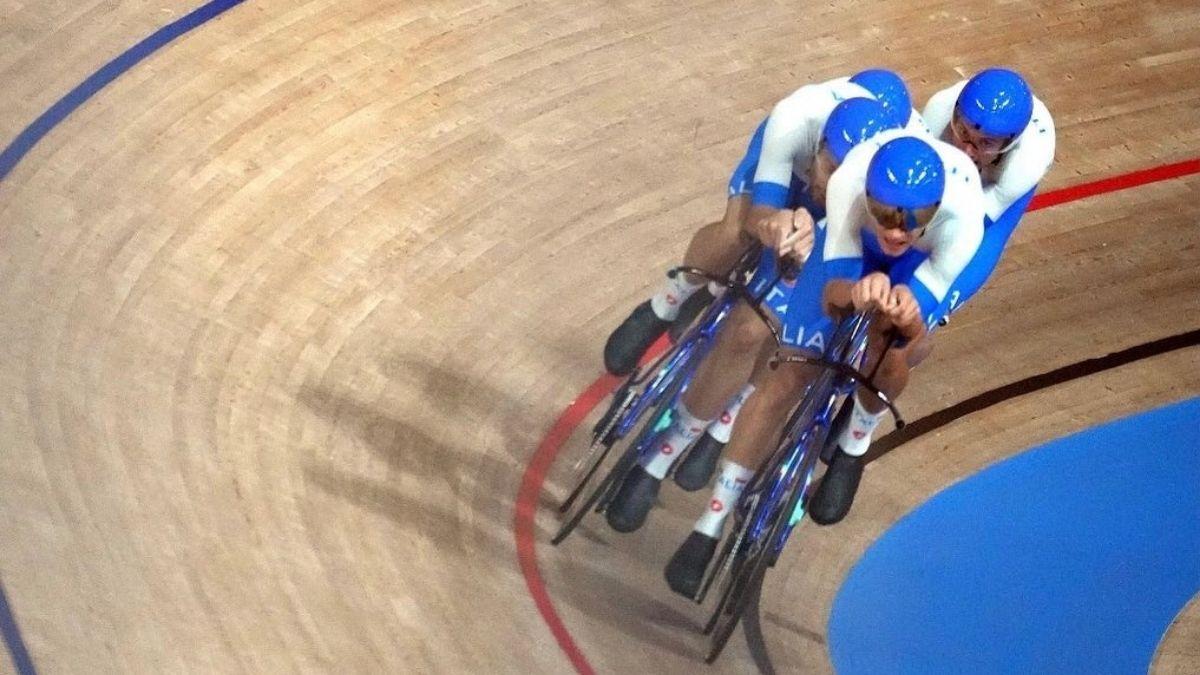 ciclismo su pista inseguimento a squadre