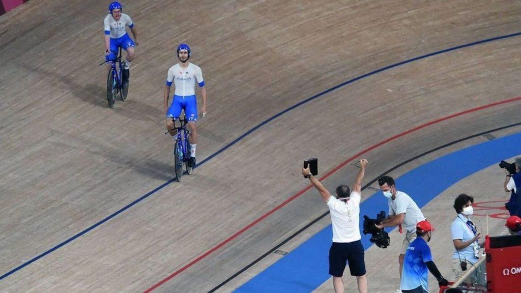 ciclismo su pista record mondo italia