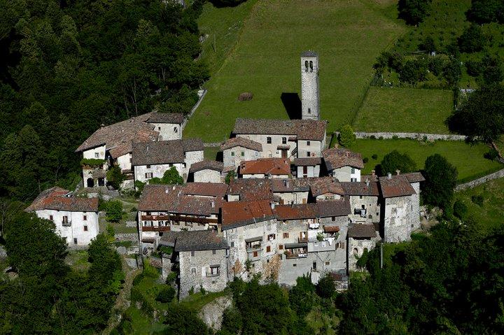 Cornello dei Tasso - Vista del borgo