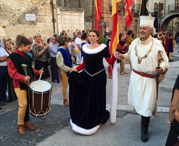 celebrazione del Matrimonio dei Caldoreschi