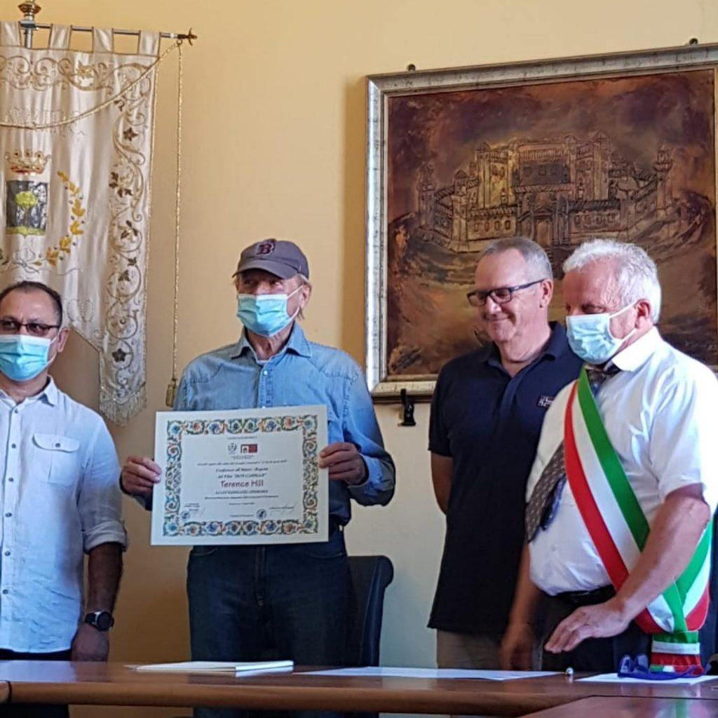 Pomponesco - Il conferimento della cittadinanza onoraria a Terence Hill