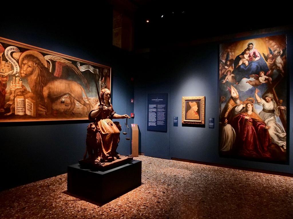 Vergine Assunta che assite all'incoronazione di Venezia, Palma il Giovane