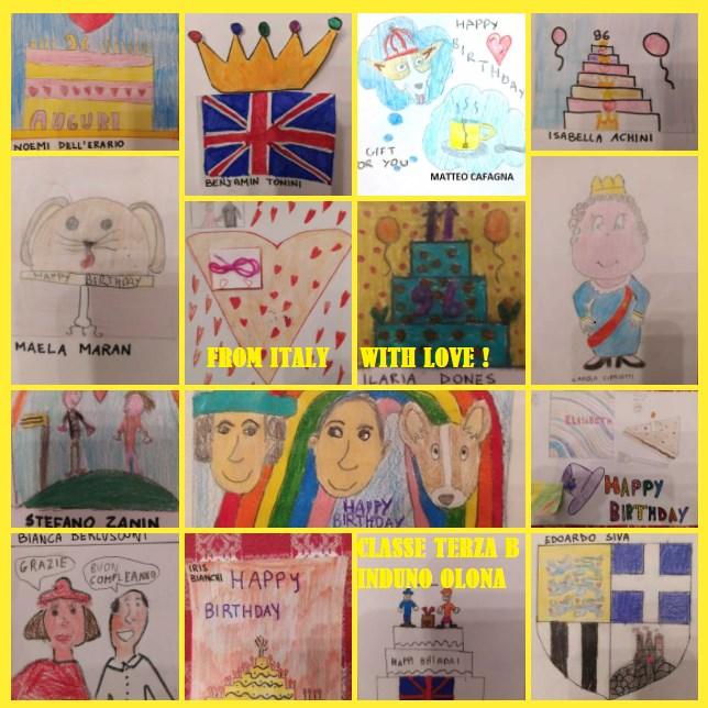 La Regina Elisabetta ha risposto ai ragazzi di una scuola italiana - I disegni inviati dalla 3B dell'Istituto Arturo Ferrarin di Induno Olona