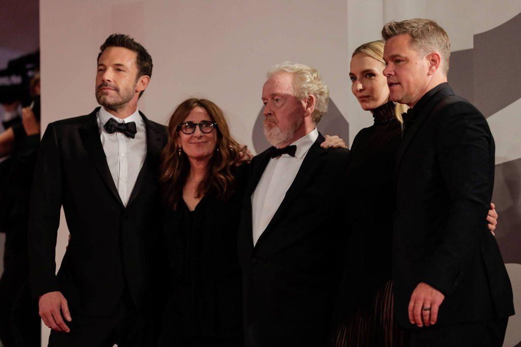 Sir Ridley Scott al centro