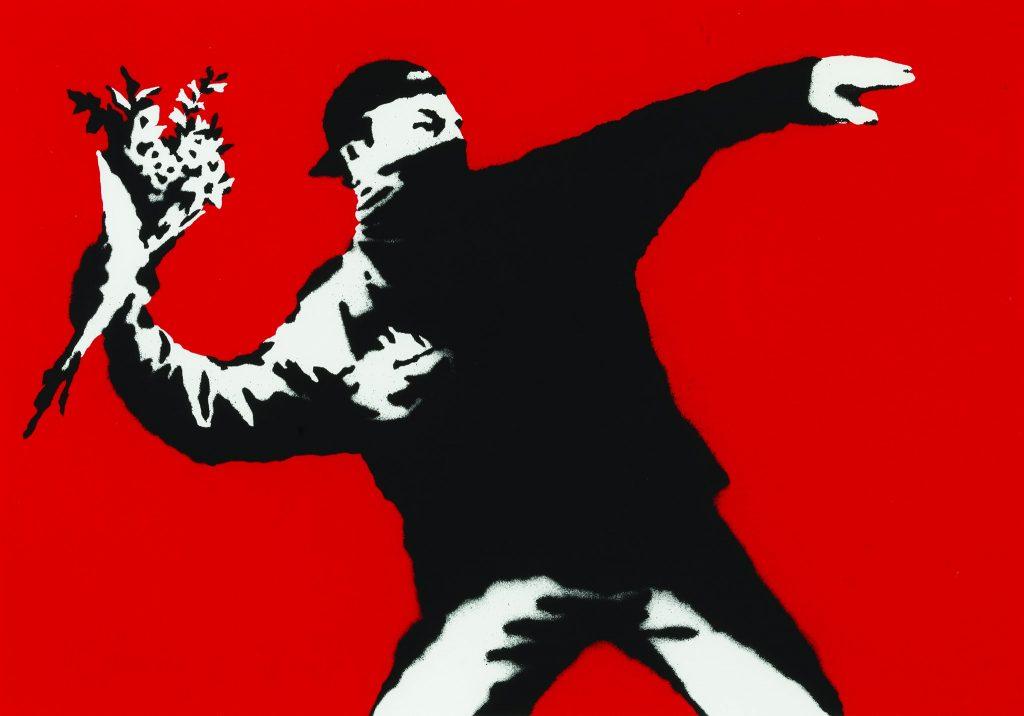 Banksy parma  - opera di Banksy