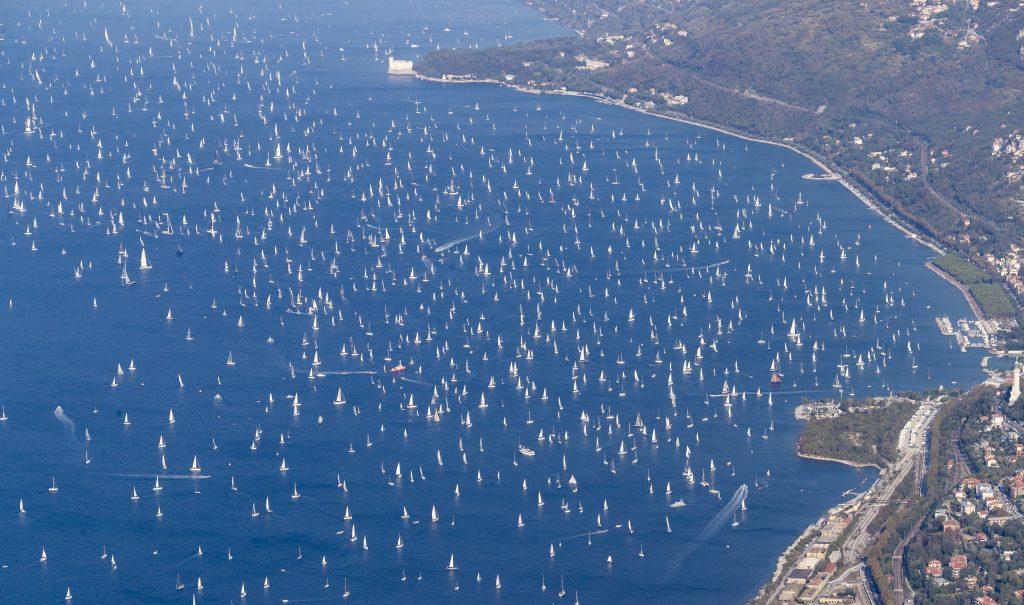 Barcolana e golfo di Trieste