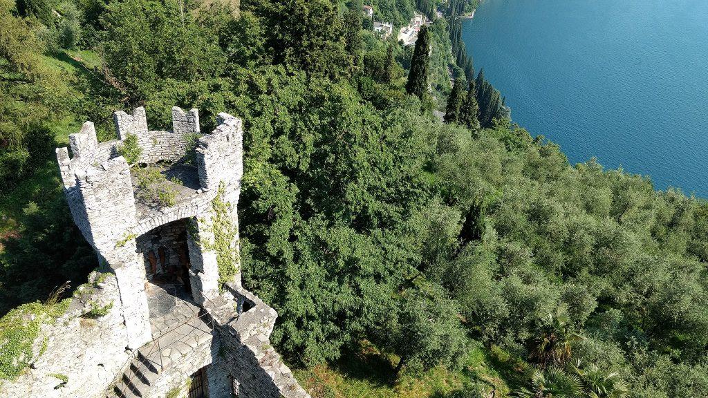 Castello di Vezio - Vista sul lago di Como