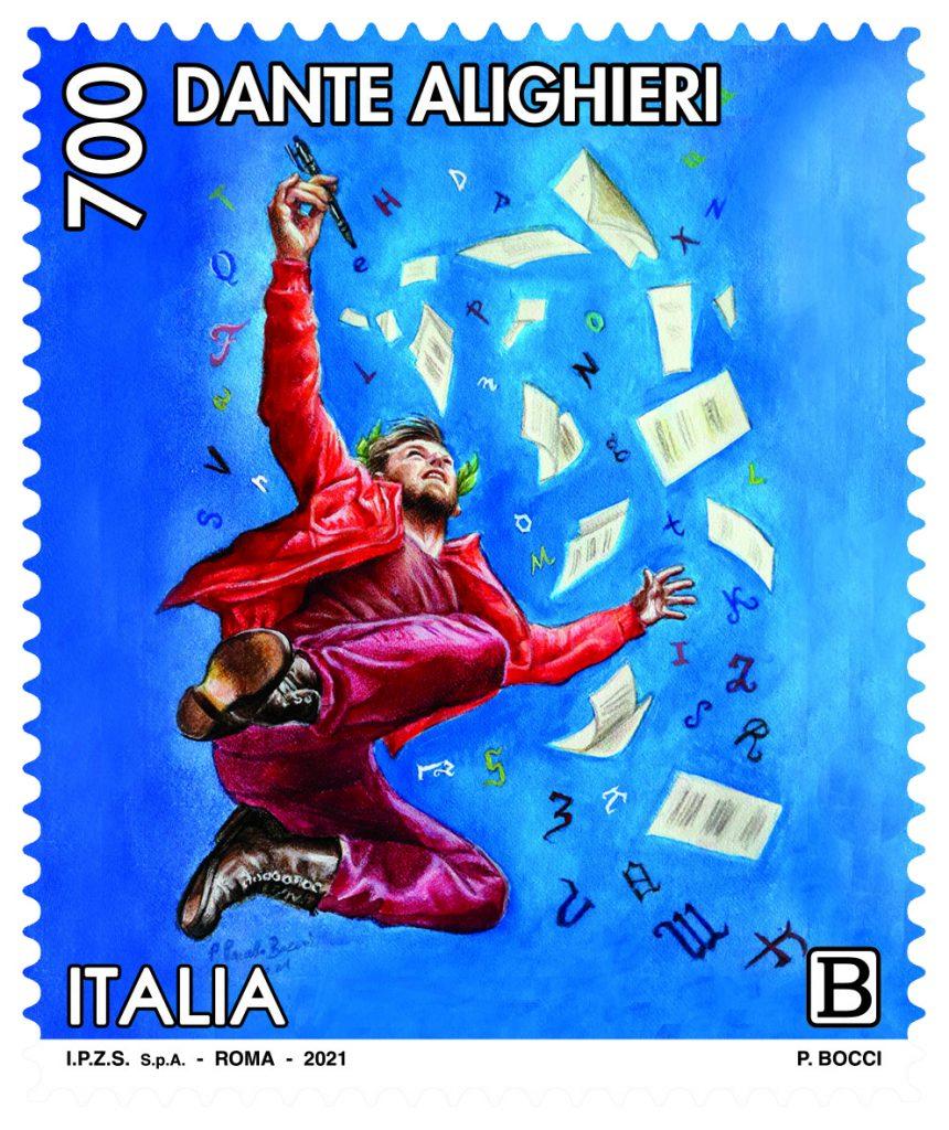 Francobollo Dante - Bocci
