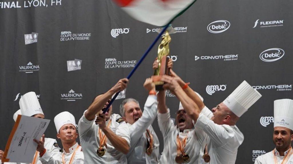 pasticceria  - vittoria dell'Italia