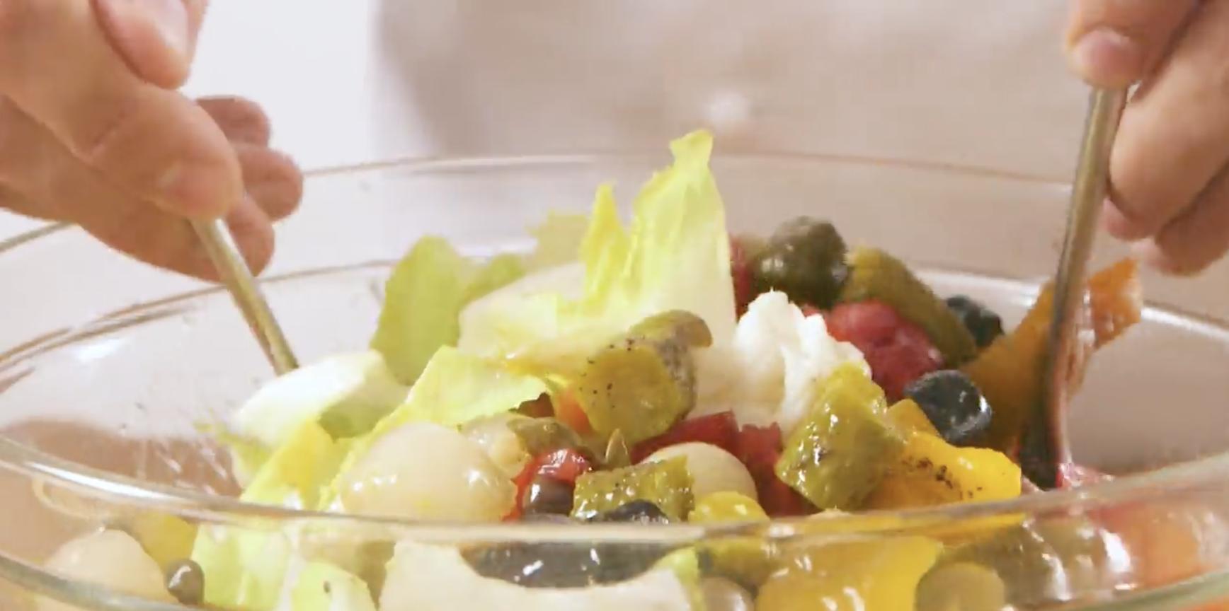 insalata di rinforzo ricetta