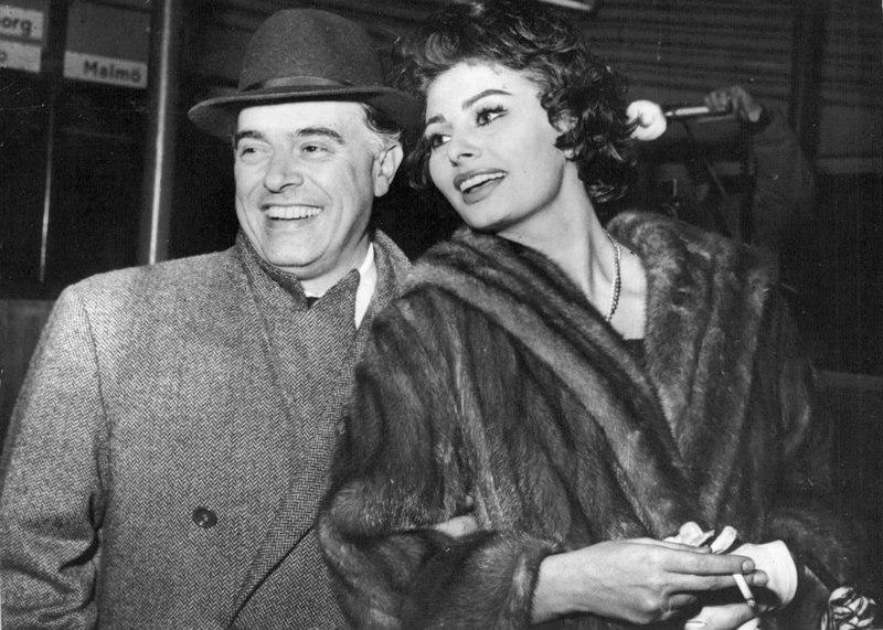 Carlo Ponti e Sophia Loren