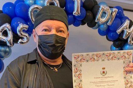 Vasco Rossi diventa cittadino onorario di Castellaneta Marina