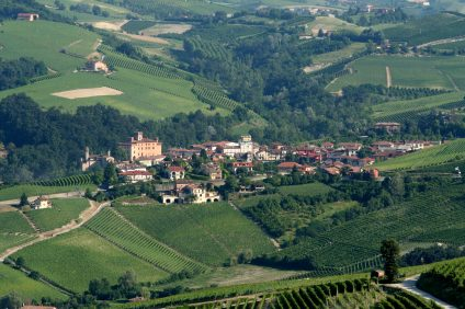Vista su Barolo - Piemonte