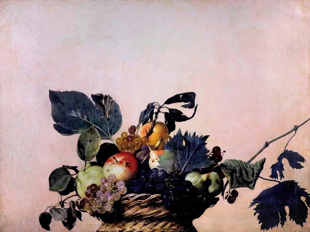 cesto con frutta