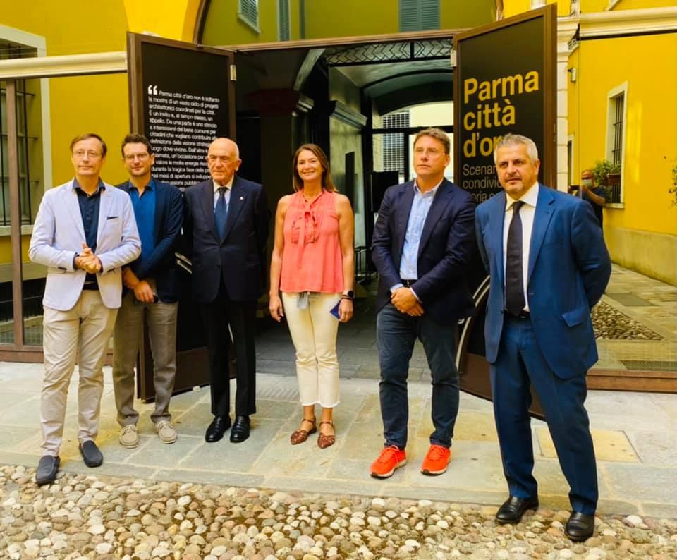 """""""Parma città d'oro"""", i curatori"""