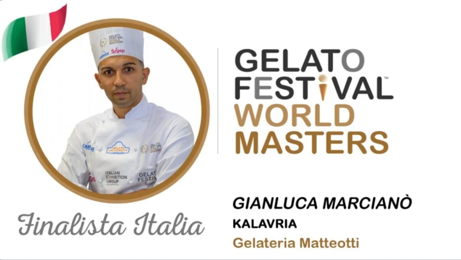 Gianluca Marcianò creatore del gusto Kalavria