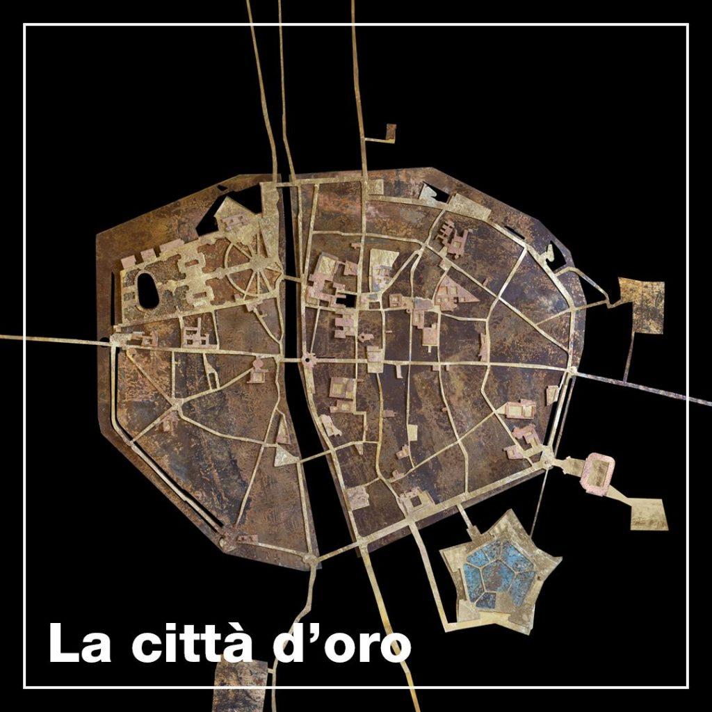 Parma città d'oro-  pianta della città