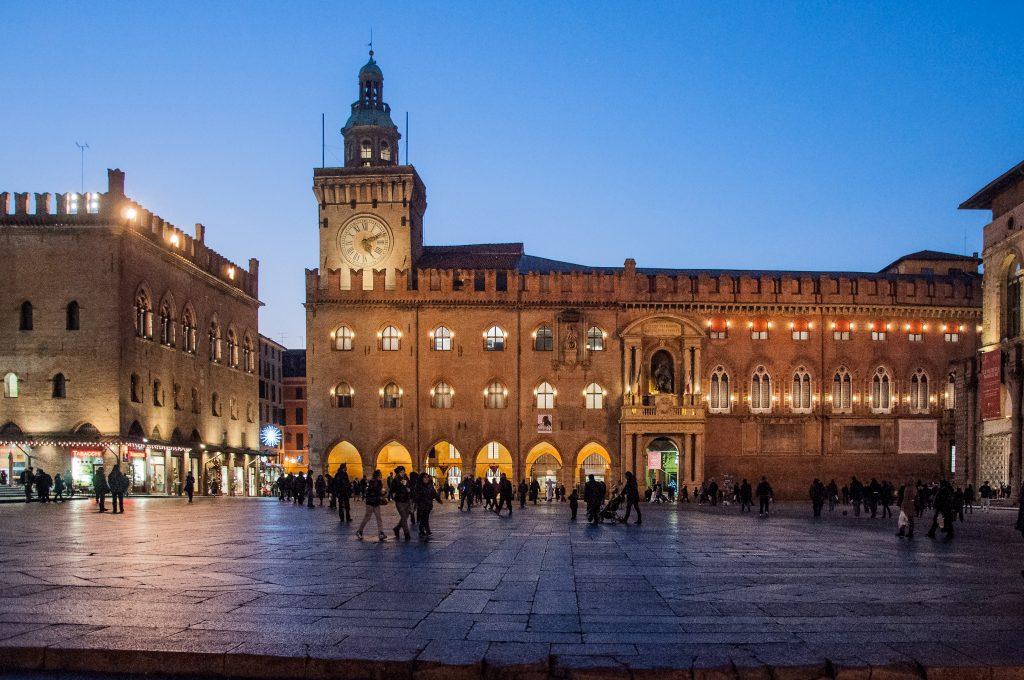 torre dell'orologio Bologna - Piazza Maggiore, Bologna