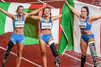 tripletta storica nei 100 metri