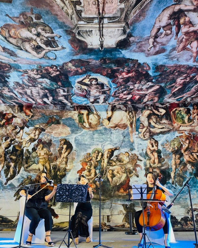 Cappella Sistina - Michelangelo's Sistine Chapel - The Exhibition
