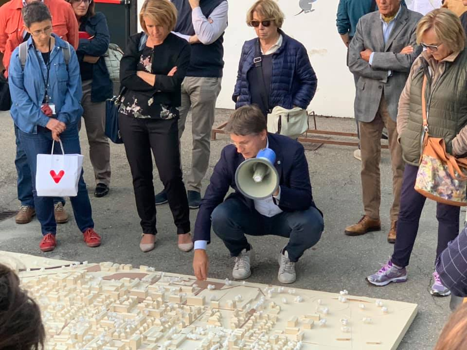 Sfida delle culture urbane - discussione partecipata del progetto urbano presso la parrocchia di San Bernardo