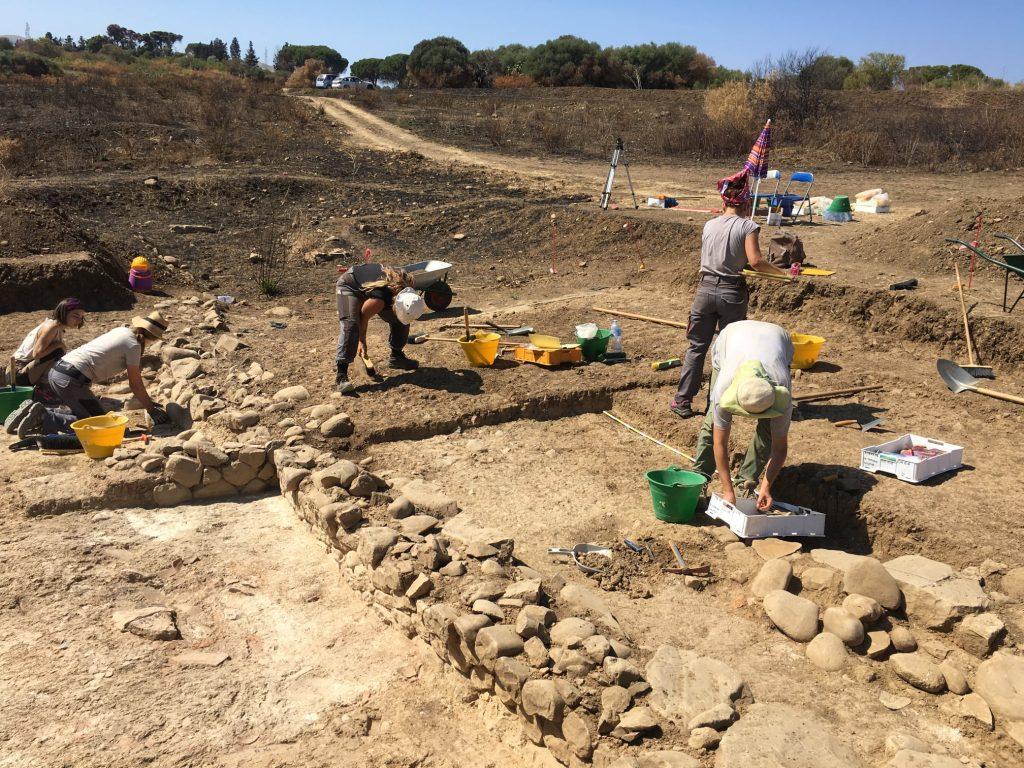scavi nell'antica Himera