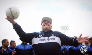El fútbol platense - Maradona