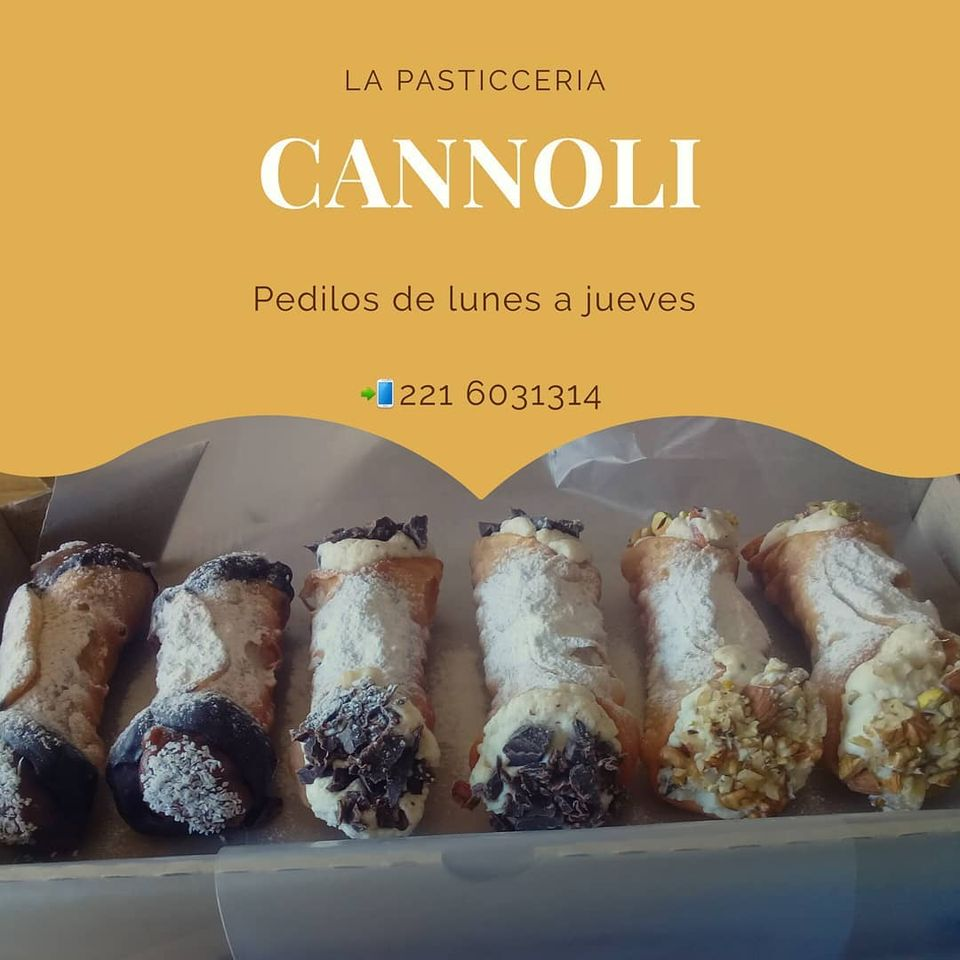 La pasticceria - Cannoli de chocolate