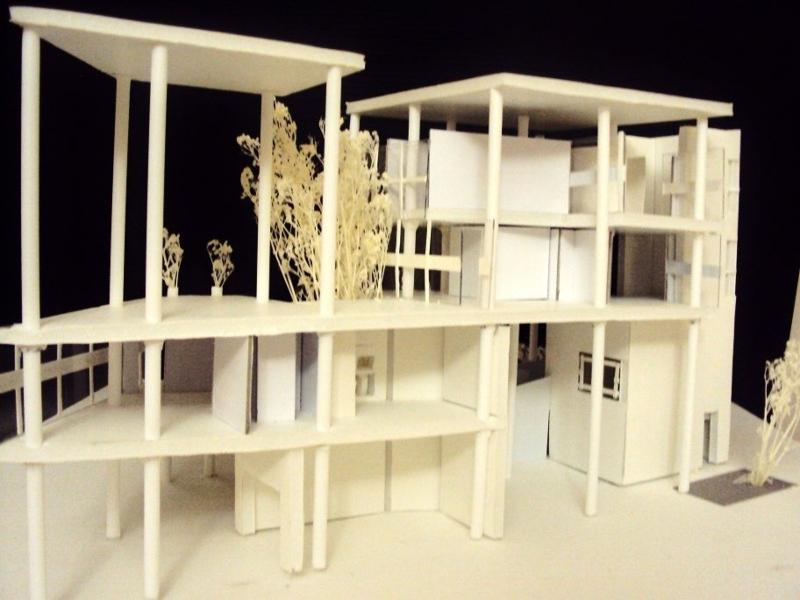 Casa Curutchet - Maqueta