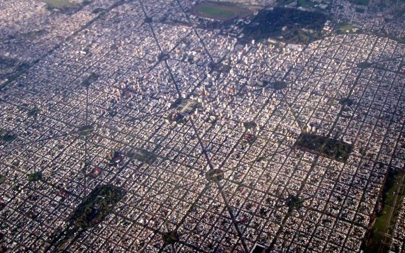 ciudad soñada - Mapa Satelital