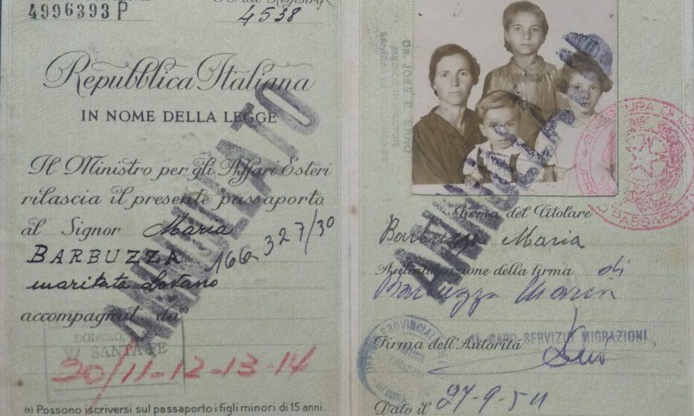 Nunziata Lovano - Pasaporte