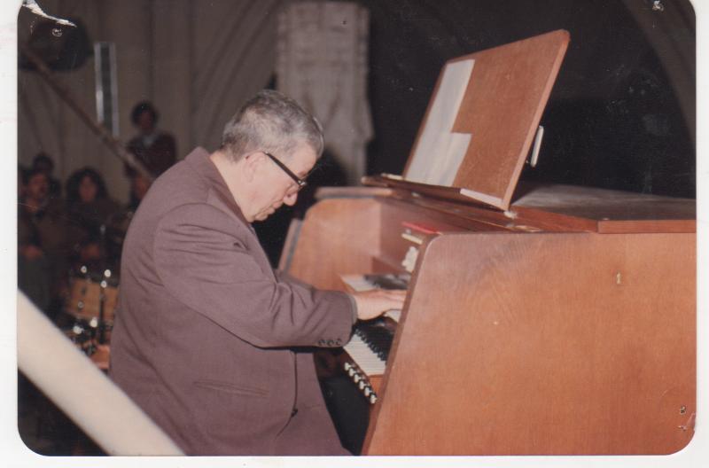 Ángel Colabella - Clases de órgano
