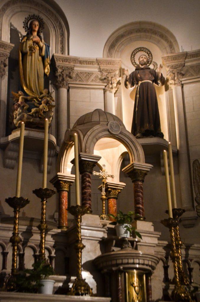 San Francisco de Asís - Altar mayor