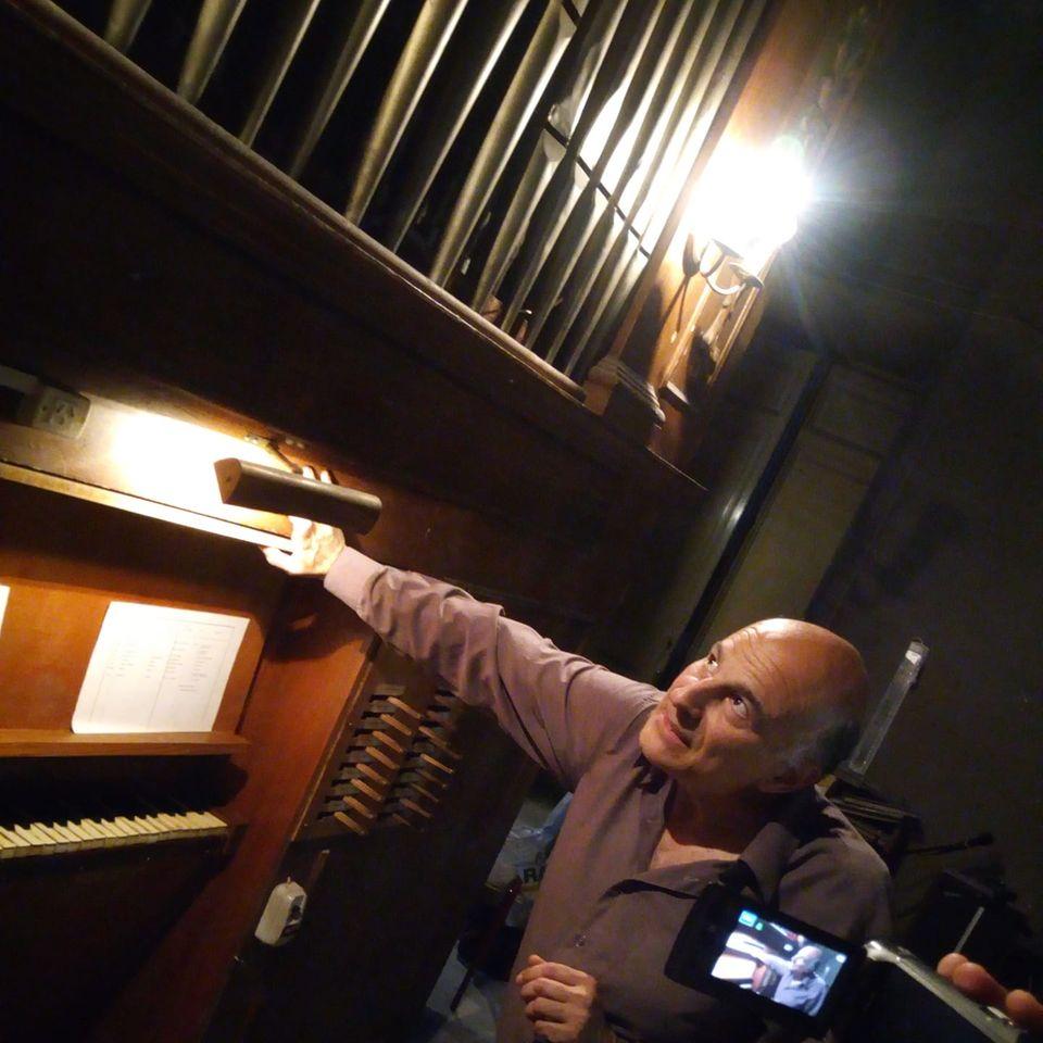 Música italiana para órgano - Enrique Rimoldi