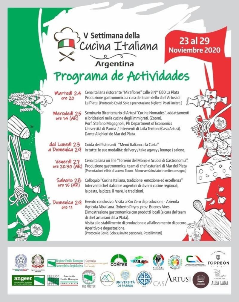 Settimana Programa De Actividades