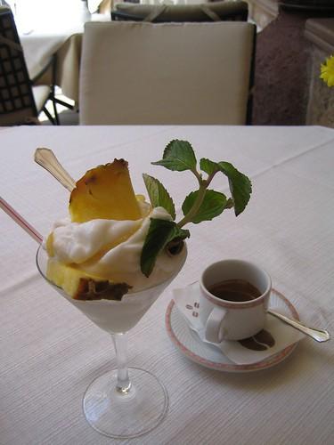 Granita siciliana - Granita e caffè
