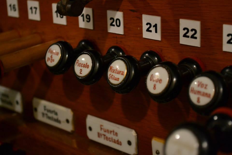 Música italiana para órgano - Registros