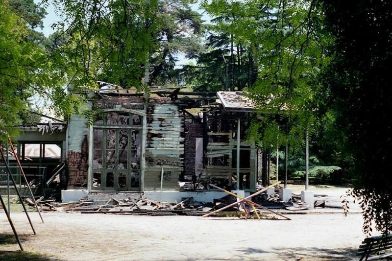 Casa de Los fundadores - Incendio