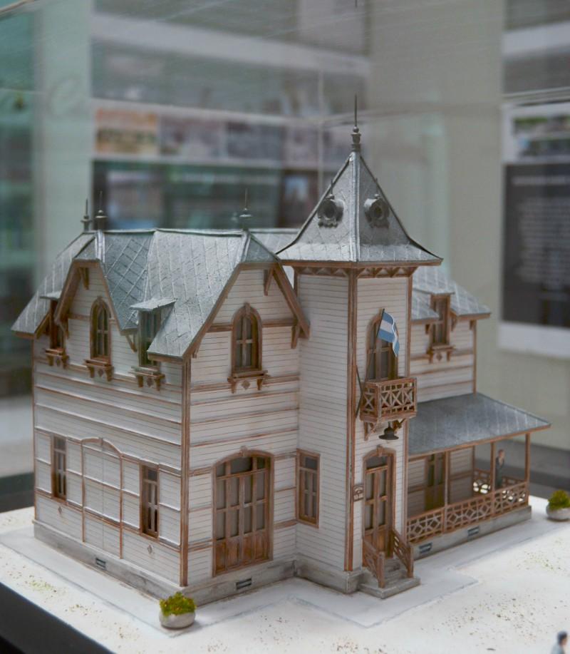 Casa de los fundadores - Maqueta de la Casona