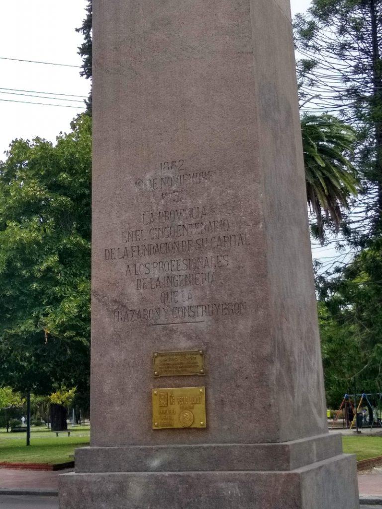 Obelisco - Inscripcion