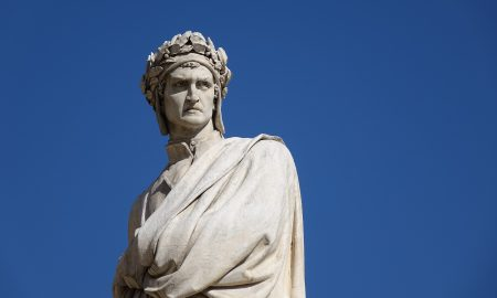 Homenaje del papa - Dante