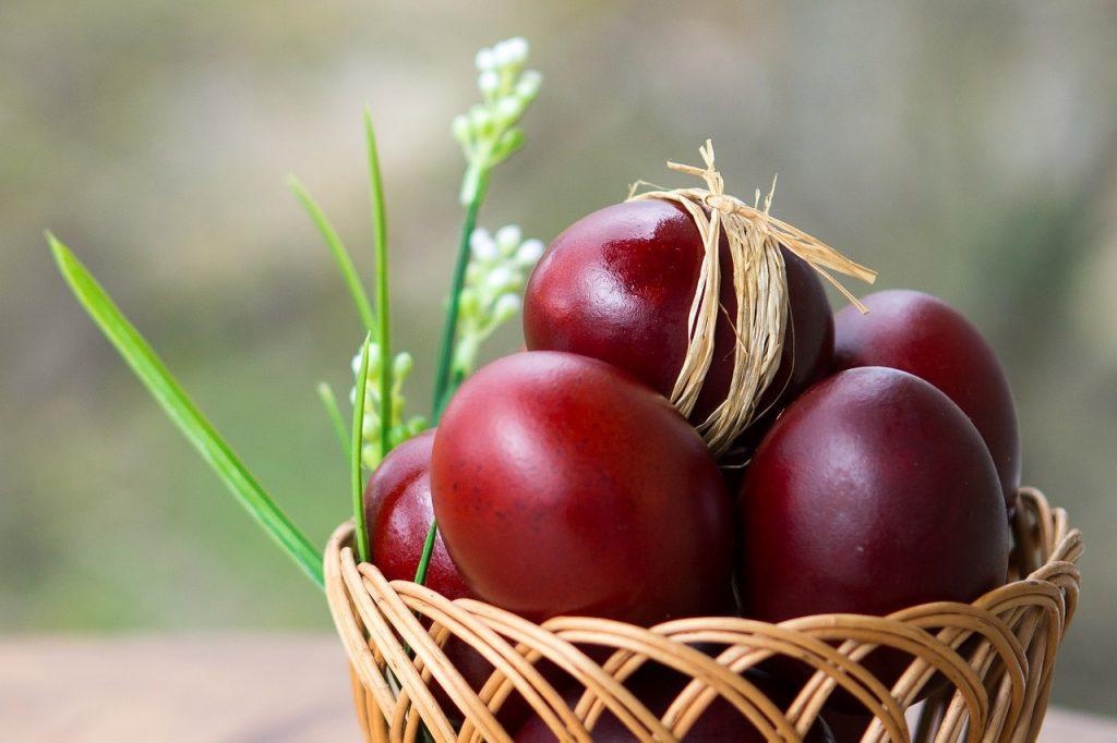 Huevo de pascua - Pascua Griega
