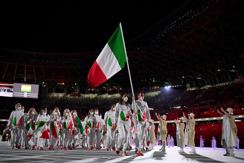 Juegos Olímpicos - Delegación Italiana