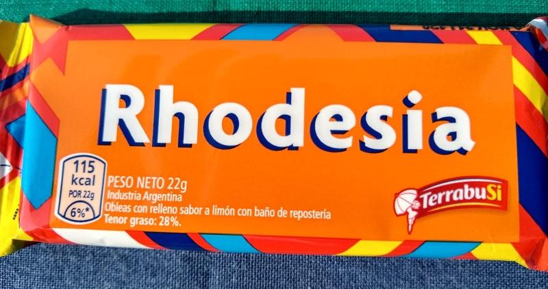 Golosinas - Rhodesia