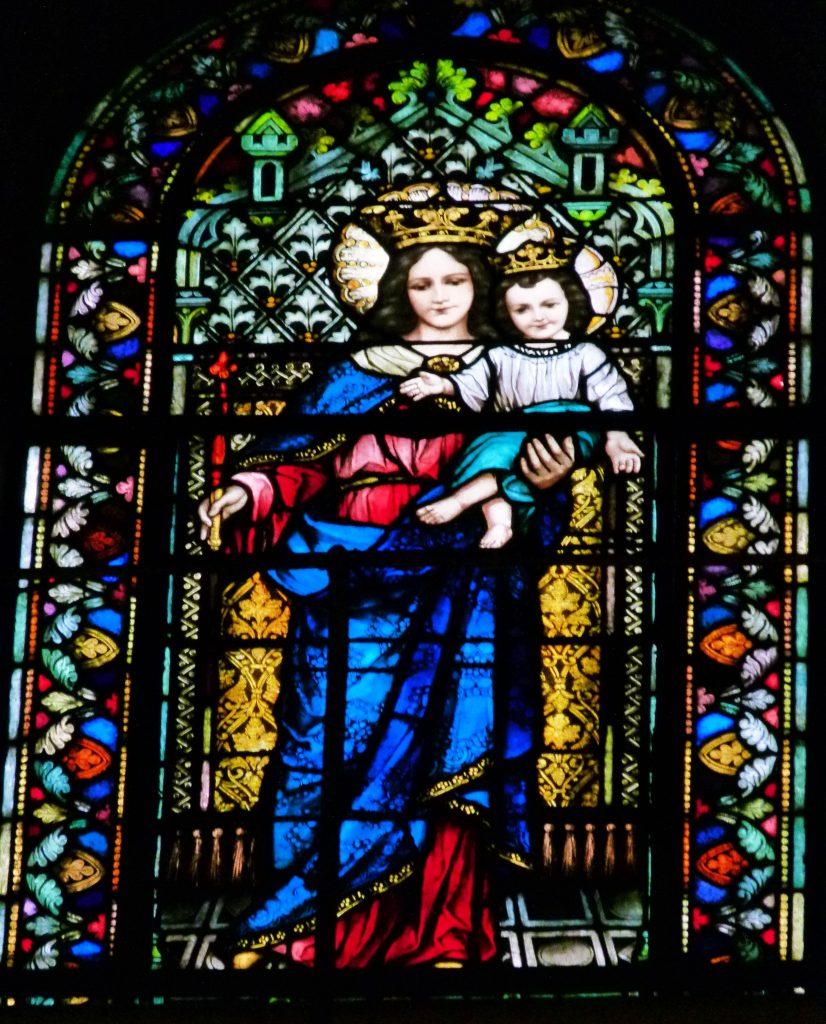 Los vitrales - María Auxiliadora