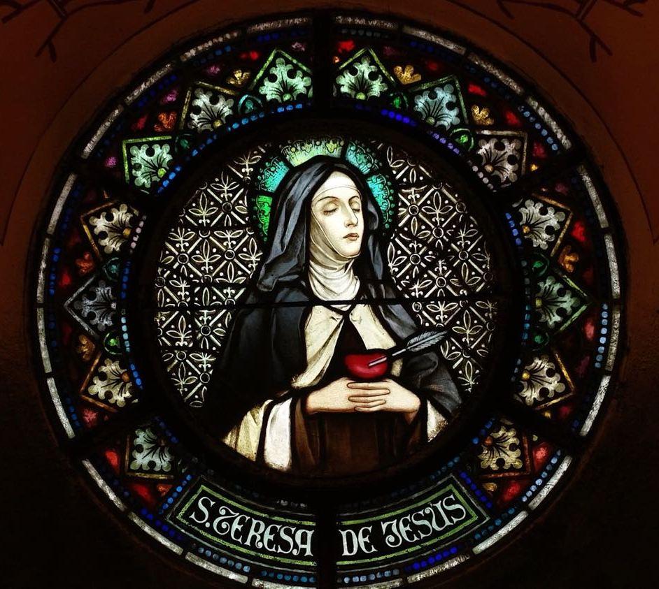 Los vitrales - Teresa De Jesús