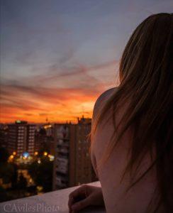 amore per Madrid - Ragazza Sul Balcone. Foto: CAvilesPhoto