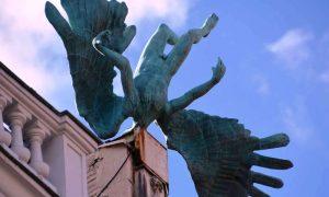 Statua Accidente Aéreo.