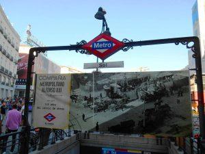 La Metropolitana di Madrid, stazione Sol. Fonte: Madrid me gusta y el mundo también.