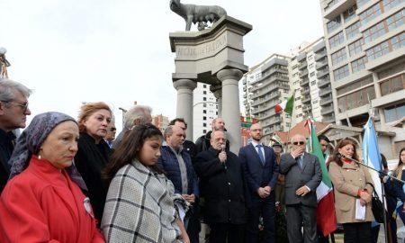 Aniversario de la República Italiana -El Intendente Arroyo fue uno de los que habló en el marco de los festejos.